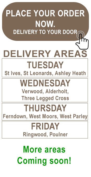 Free Range Eggs Delivery areas